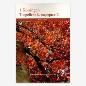 M.G. de Koning; Toegelicht & Toegepast; Bijbelstudie; ISBN: 9789057984341