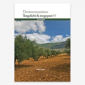 Toegelicht & Toegepast; Bijbelstudie; Deuteronomium ; M.G. de Koning;  ISBN: 9789079718672