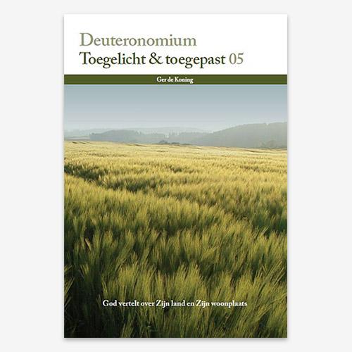 Toegelicht & Toegepast; Bijbelstudie; Deuteronomium ; M.G. de Koning; ISBN: 9789057983665