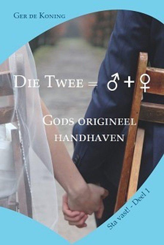 Die Twee = ♂ + ♀ ; M.G. de Koning; ISBN 9789064512391;