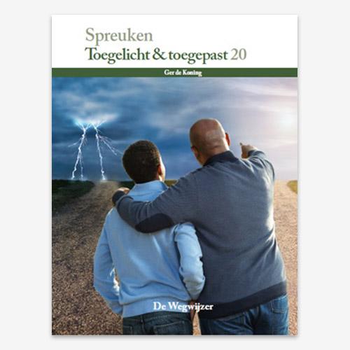 Het boek Spreuken M.G. de Koning  ISBN: 9789079718412