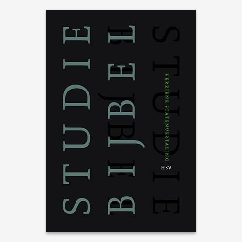 Studiebijbel HSV; ISBN 9789065393746; HSV studiebijbel; bijbels