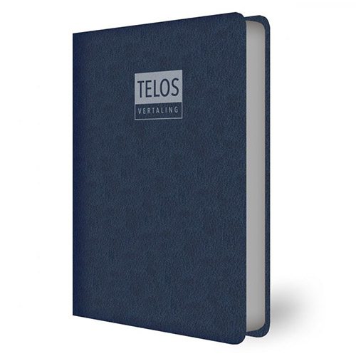 Telosvertaling; ISBN 9789492234469; blauw