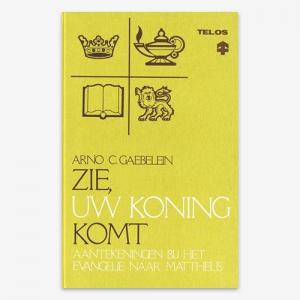 Bijbelstudie; ISBN 906353146x Zie uw Koning komt! A.C. Gaebelein Mattheüs Matth.